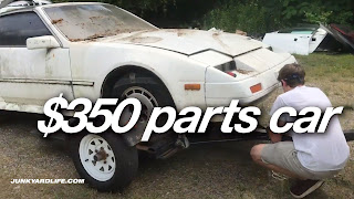 A $350 parts car 300ZX was located. Ran when parked. Fuel pump worked, so we decided to buy whole car.