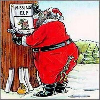 Missing elf..