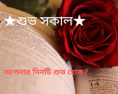 Good morning Wishes Images in Bengali