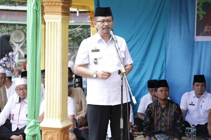 Bupati Asahan Hadiri Pengajian Akbar di Kecamatan Setia Janji