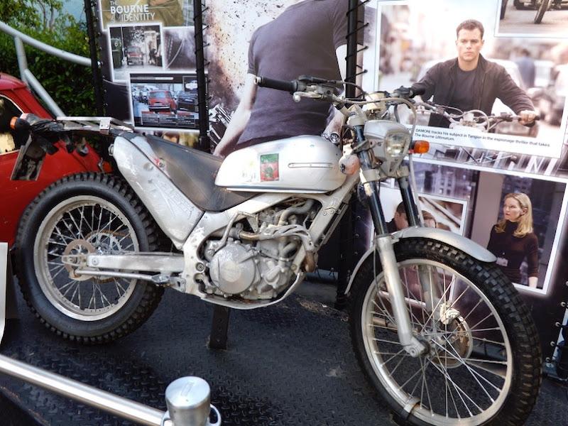 Bourne Ultimatum Honda Cota 4RT motorcycle