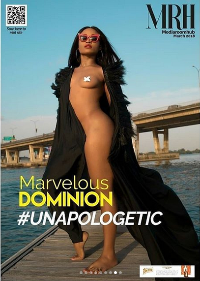 Nigerian-actress-Marvelous-Dominion-poses-nude