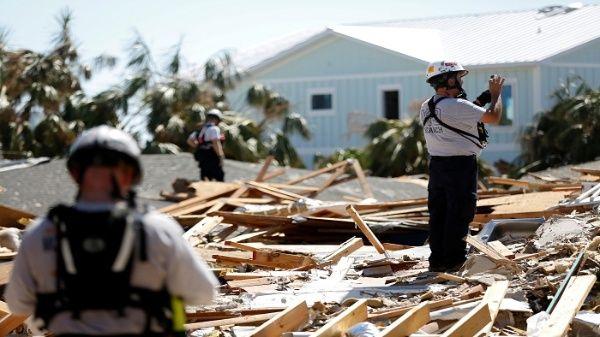 Aumentan a 39 los fallecidos por huracán Michael en EE.UU.