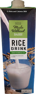 marks and spencer rice milk drink