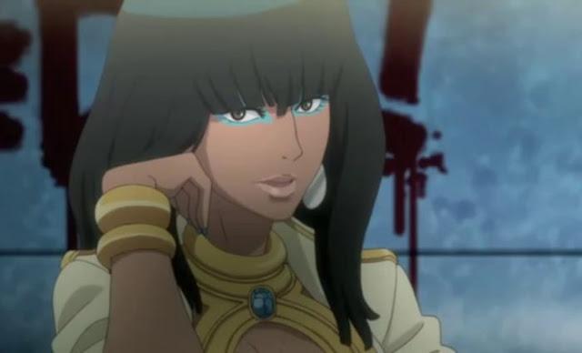 black anime characters female