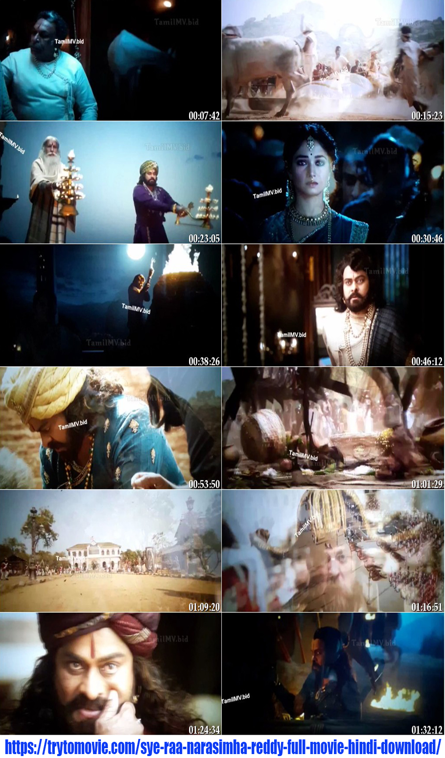 Sye Raa Narasimha Reddy Full Movie in Hindi Screenshot