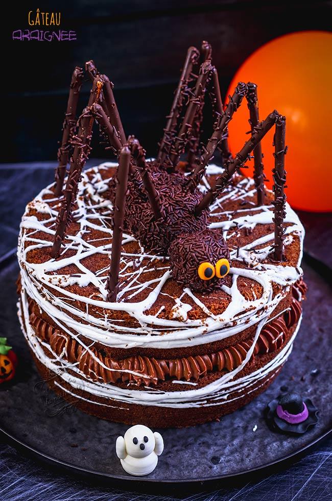 gateau araignée recette