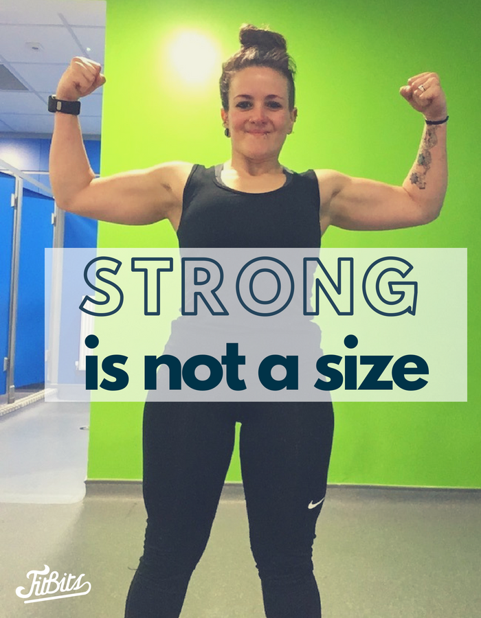 FitBits | Strong is not a size - Women In Sport, British Weightlifting, This Girl Can - Tess Agnew fitness blogger