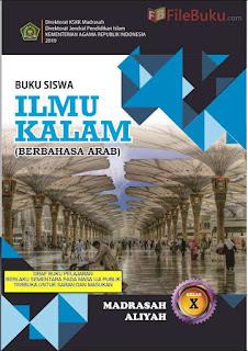 Buku Siswa Ilmu Kalam MA Kelas 10-X Kurikulum 2013 Revisi 2019