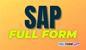 Full Form of SAP - सैप का फुल फॉर्म