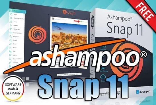 تحميل وتفعيل برنامج Ashampoo Snap 11 عملاق التقاط الصور من سطح المكتب