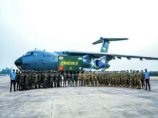 'DUSTLIK II'-- Joint Military Ex. of India and Uzbekistan