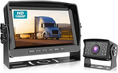 Fookoo DY901-Wired Car Backup Camera System Ki