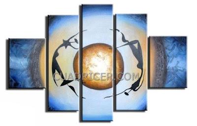 http://www.cuadricer.com/cuadros-pintados-a-mano-por-temas/cuadros-etnicos-africanos/cuadro-etnicos-azules-676-tiendas-online.html