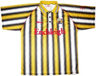 Away Jersey Burnley 1993/94