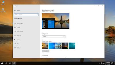 Cara Mencegah Orang Lain Mengganti Wallpaper di Windows 10