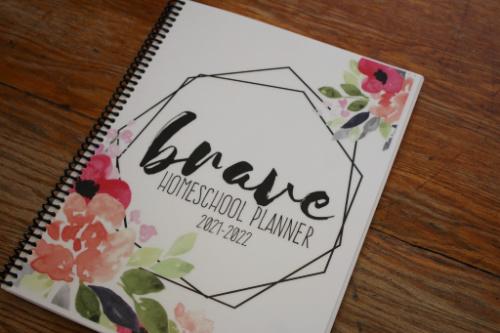 The Brave Homeschool Planner