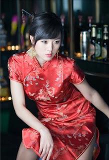 Baju Tradisional China Wanita Cheongsam