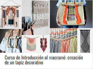 Curso de Introducción al macramé: creación de un tapiz decorativo