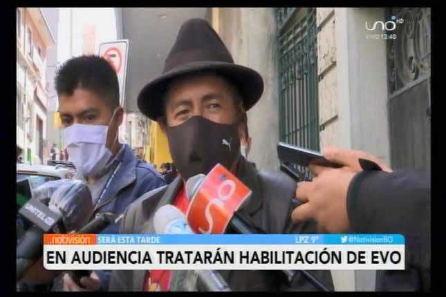 Tata Quispe: Habilitar a Evo Morales, quien tiene procesos por pedófilo, sería nefasto