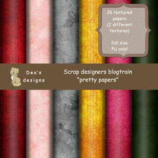 Scrap designers - Pretty papers
