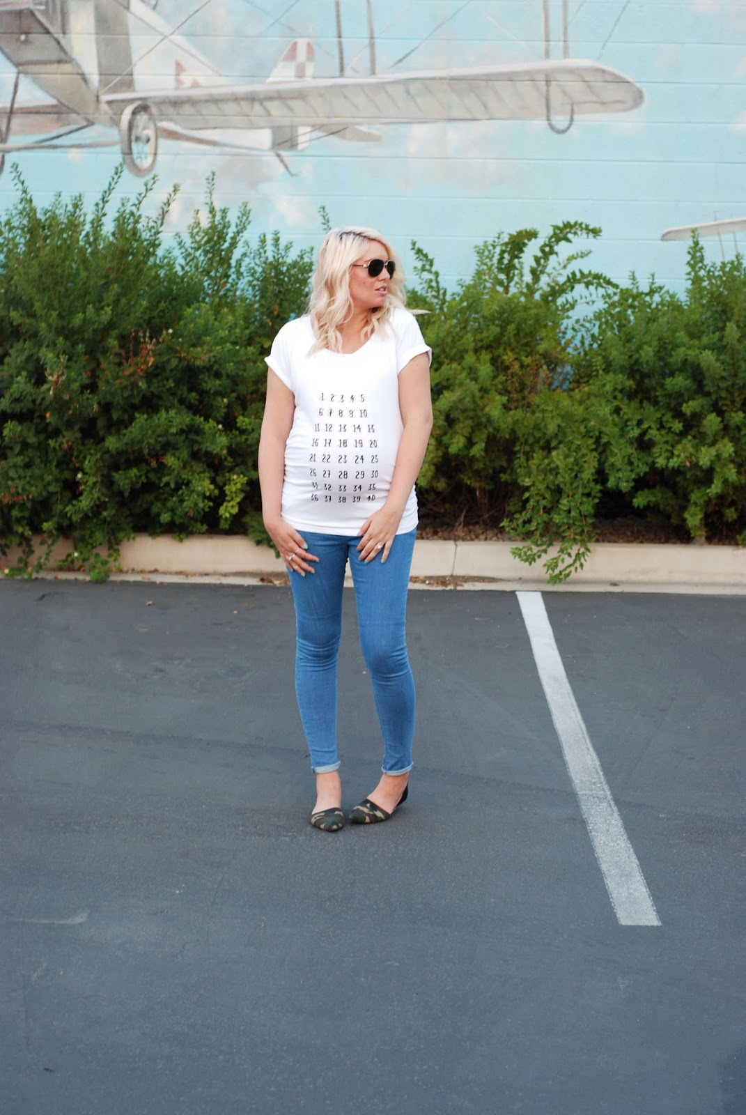Maternity Tee, Utah Fashion blogger, Modest Blogger