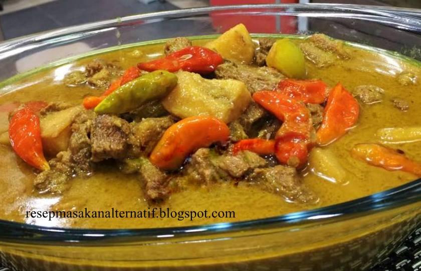 resep gulai daging sapi enak pedas resep masakan sedehana Resepi Gulai Kambing Aceh Enak dan Mudah