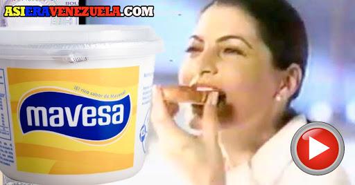 Comerciales antiguos de Margarina Mavesa