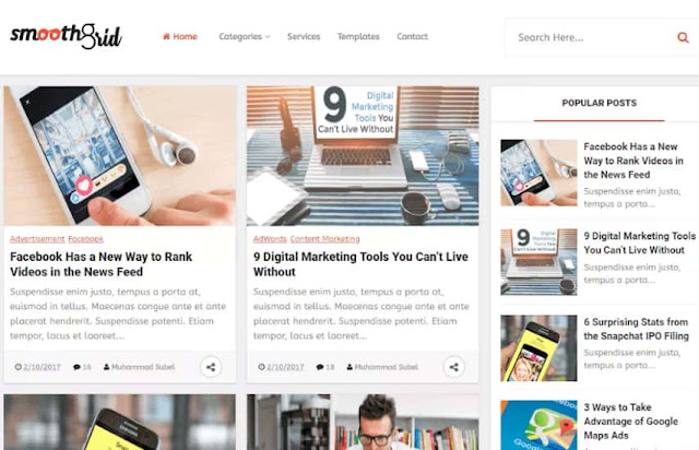 No-6-Smooth-Grid-blogger-seo-template