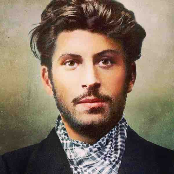 Young Joseph Stalin Handsome Joseph Stalin Young Ha...
