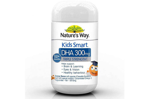 Viên dha Natures Way Kids Smart DHA 300mg