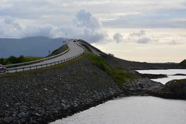 The Atlantic Ocean Road Norway – wonder why no speed cameras