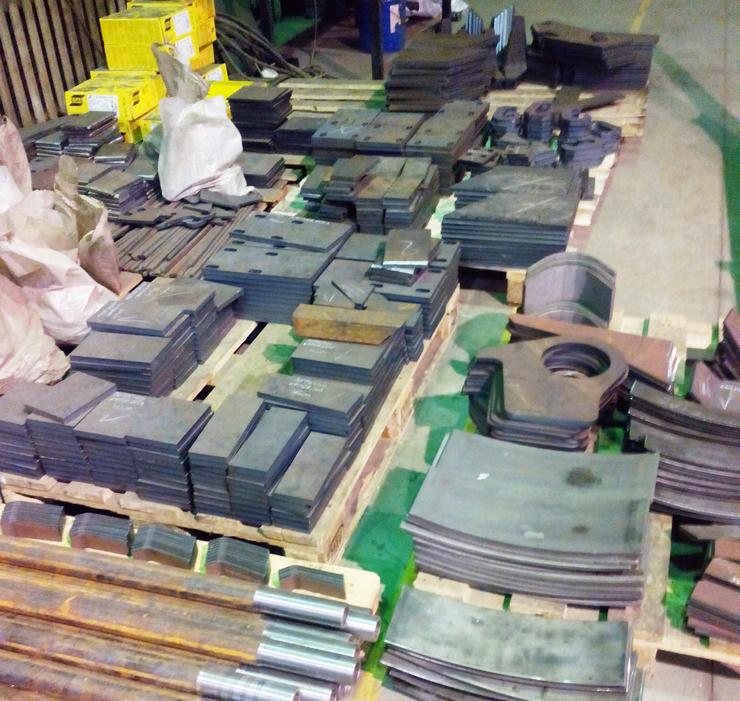 Неправильная организация участка комплектации фасонных деталей