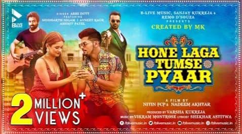 Hone Laga Tumse Pyaar Lyrics in Hindi - Abhi Dutt