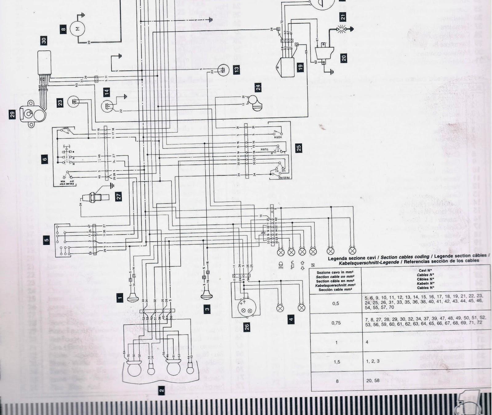 small resolution of cagiva mito 125 cagiva mito 125 wiring diagrams electrics cagiva mito 125 cagiva mito power valve wiring