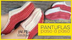 Cómo Tejer las Pantuflas Más Fáciles del Mundo 🤩