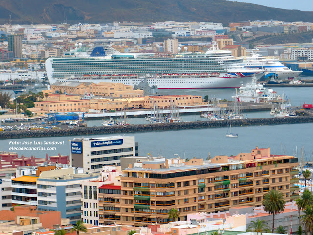 Los cruceros que visitarán Las Palmas de Gran Canaria en septiembre 2017 / fotos: José Luis Sandoval