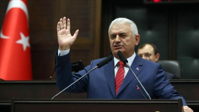Premier turco: No nos importa línea roja de Unión Europa