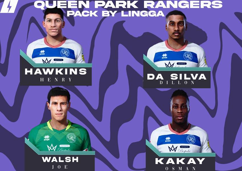 Queen Park Rangers Mini Facepack 2021 For eFootball PES 2021