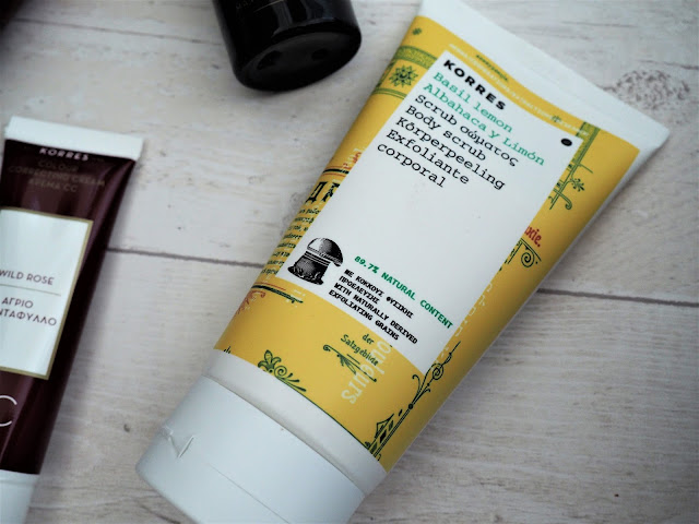Korres Basil Lemon Body Scrub