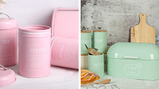 Chic Canister Sets For Your Kitchen On Any Budget