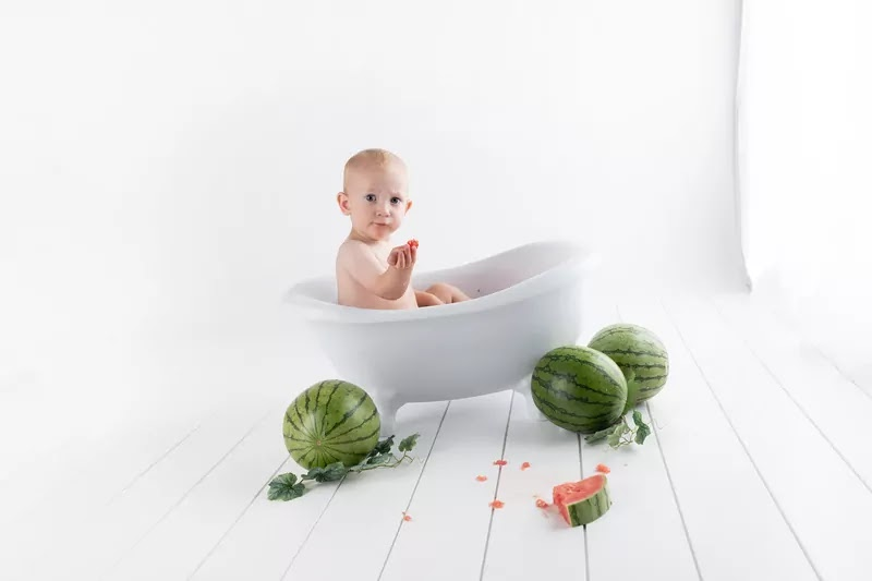 baby bathtub beautiful look