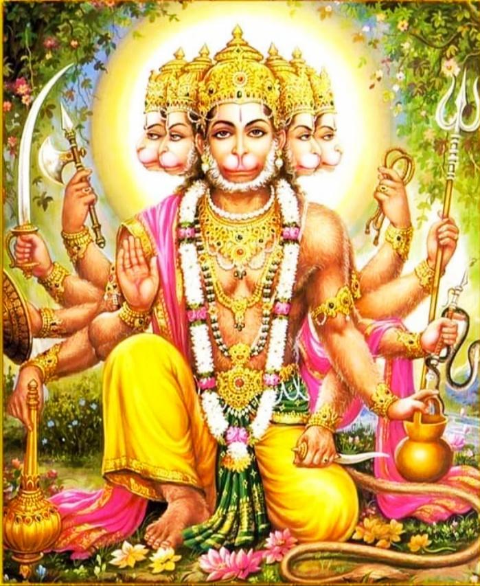 Panchmukhi hanuman hd Photo