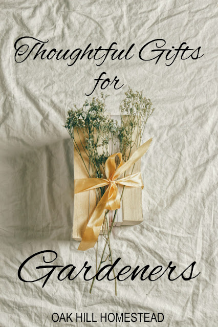 Thoughtful gifts for gardeners