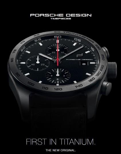 52d1be4fbf4 Estação Cronográfica  Em primeira mão - relógios Porsche Design ...