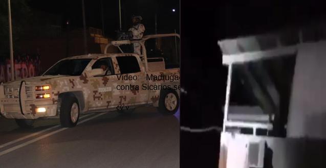 Video: Madrugada de sábado de balaceras Sicarios contra Sicarios se balacean en Río Bravo, Tamaulipas
