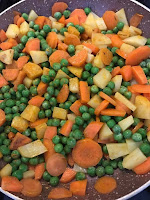 Carrot Peas Potato Recipe