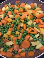 Carrot Peas Potato Recipe