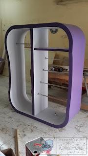Rak Display Toko Pakaian  + Furniture Semarang
