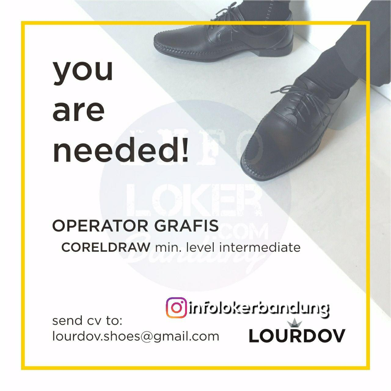Lowongan Kerja Lourdov Shoes Bandung Maret 2018